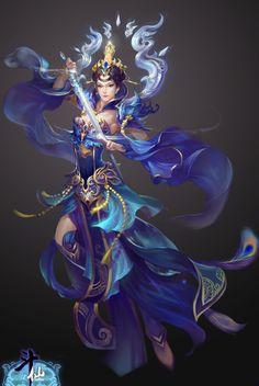 Wuxia warrior mage