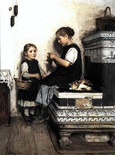 Albert Anker, un pintor entrañable.
