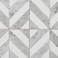 is the leader in quality Thassos White, White Carrara Multi Finish Marina Chevron Marble Mosaics at the lowest price. We have the widest range of MARBLE products, with coordinating deco, mosaic and tile forms. Travertine Tile, Marble Mosaic, Carrara Marble, Floor Patterns, Tile Patterns, Floor Design, Tile Design, Marble Floor Kitchen, Unique Flooring
