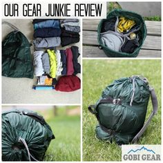 We are so pleased to have Gear Junkie review our HOBOROLL!! See what the gear gurus thought of our organizational stuff sack!