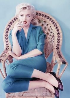 Marilyn Monroe photographed by Milton Greene, 1954.