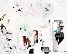 "New Media, ""Levantine"" New Media, Saatchi Art, Artworks, Ink, Abstract, Artist, Summary, Artists, India Ink"