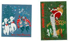 Christmas cards illustrated by Disney artist Retta Scott Worcester