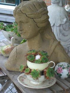 Deko im Garten