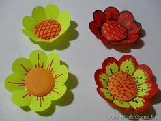 Сегодня в мастер классе мы рассмотрим фигурный стикер в виде цветка. Для изготовления объемных цветков, (цветы своими руками из бумаги).