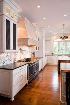 I will have a colored stove, miles of counter tops, this kitchen says, make a tart, or pastry.(Cultivate.com)