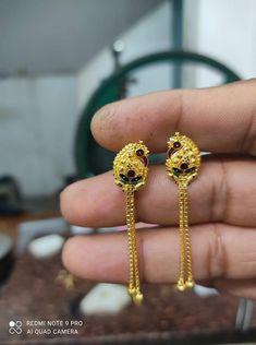 Beaded Jewelry, Beaded Necklace, Gold Necklace, Jewellery, Gold Jewelry Simple, Simple Necklace, Gold Jhumka Earrings, Diamond Earrings, Daily Wear