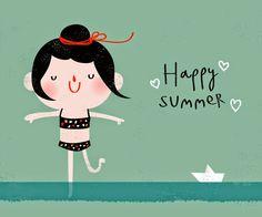 Pinzellades al món: Bon estiu! / Feliz verano! / Happy summer!