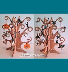 Scroll Saw Patterns :: Holidays :: Halloween -