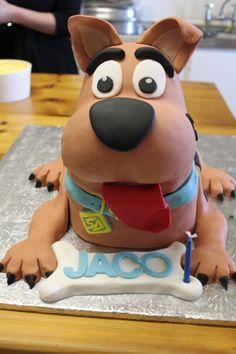 Scooby doo Cake Creations, Scooby Doo, Birthday Ideas, Baking, Character, Bakken, Backen, Sweets, Lettering