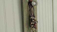 Accessories Rack  Jewelry Hanger  Vintage Door Knob