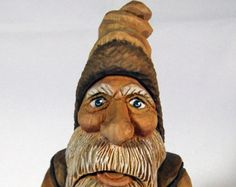 Old World Santa Free Shipping by RobnRozCarvings on Etsy