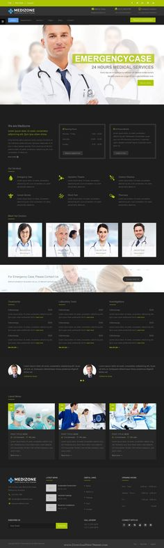 Medizone is beautiful Responsive HTML5 Bootstrap #Template for #Healthcare & Medical related #website. Download Now!