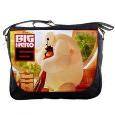 BIG HERO 6 MOVIE MESSENGER BAG $29.99