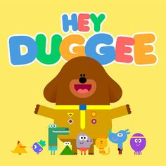 Hey Duggee Currently on it's series, I've worked as a designer on the Bafta and Emmy award winning pre-school animation since Series I design. 1st Birthday Party Bags, 3rd Birthday, Birthday Cards, Happy 1st Birthdays, Kids Branding, Alice, Diy Party, Birthday Invitations, Pre School
