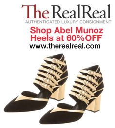 """""""www.therealreal.com"""" by abelmunozaccessories ❤ liked on Polyvore featuring Abel Muñoz"""