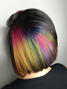 Lovin my Rainbow hair