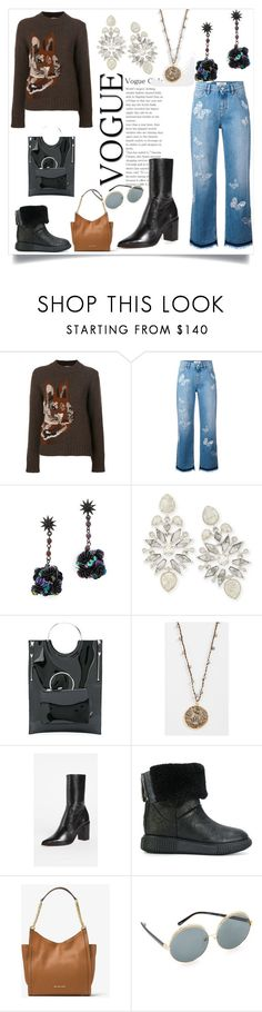 """Winter fashioon"" by kristeen9 on Polyvore featuring Mulberry, Valentino, Lulu Frost, Kendra Scott, Toga, Native Gem, Schutz, Moncler, MICHAEL Michael Kors and N°21"
