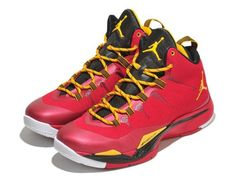 new style 5f7eb 3bf76 Jordan Super.Fly 2 University Red Metallic Gold Black