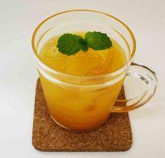 Mandarin liquor & Mango juice