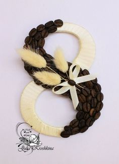 Burlap Flowers, Paper Flowers, Craft Gifts, Diy Gifts, Coffee Bean Art, Diy And Crafts, Crafts For Kids, Popsicle Crafts, Paper Quilling Designs