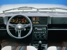 Which Automaker Crafted The Best-Looking Dashboard? • Petrolicious  Lancia Delta
