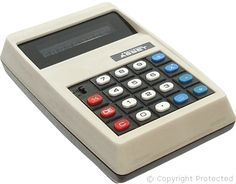 I remember when these came out they were $100's of dollars for just the basic add, subtract, multiply and divide