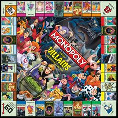 MONOPOLY®: Disney Villains™ Collector's Edition (Disney Theme Parks Exclusive) | USAopoly