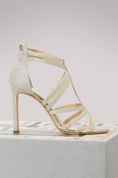 02128b0a0c3846 Buy Jimmy Choo Selina 100 sandals online on 24 Sèvres.