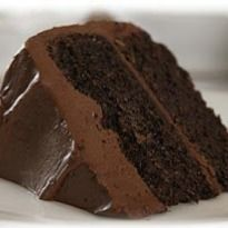 Sour Cream Chocolate Cake: A moist #chocolate #cake with sour cream and a thick layer of rich buttery frosting. Try this and you wont regret it.