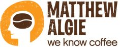 Matthew Algie Coffee - tri certificated (organic, fairtrade and rain forest alliance). We serve the TIKA coffee (regular and decaf) for breakfast. Matthew Algie knows coffee and our breakfast guests know good coffee when they taste it.