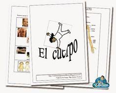 RECURSOS PRIMARIA | Unidad didáctica adaptada del cuerpo humano ~ La Eduteca