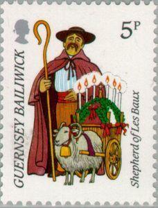Guernsey 1985 postage stamp.