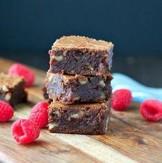 Raspberry Fudge Brownies | A chocolate dessert recipe you can't help but love