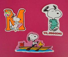 Pegatinas de Snoopy