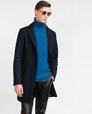 ZARA Man Navy Blue Wool Long Coat With Lapels Buttons XL 1564/362 RRP GBP 119.99  $100.87    End Date:  May-20 03:46   Buy It Now for only: US $100.87  Buy it now    |  http://bayfeeds.com/ebayitem.php?i=182030349827&u=3464&f=3228