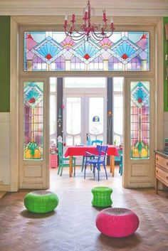 Glas in lood Blue Things infinix smart 2 blue color Ideas Cabaña, Interior Design Minimalist, Stained Glass Door, Stained Glass Panels, Jugendstil Design, House Colors, Home And Living, Interior Inspiration, Interior And Exterior