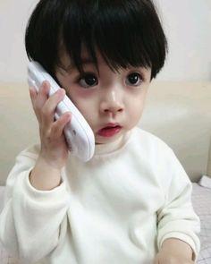 Most Popular Korean Baby Cute Girl Ideas Dad Baby, Cute Baby Boy, Cute Little Baby, Little Babies, Cute Kids, Baby Kids, The Babys, Cute Asian Babies, Korean Babies