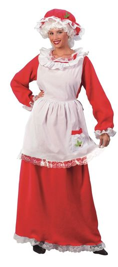 Women Santa costumes also are available in the style of a skater dress and this style has gained a lot of prominences recently.Pick up your style and get ready with all other Santa dress accessories along with your perfectly styles women Santa costume. Mrs Claus Outfit, Mrs Santa Claus Costume, Christmas Costumes, Halloween Costumes, Santa Costumes, Women Halloween, Family Halloween, Halloween Ideas, Halloween Party