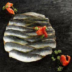 Tarta de Sardinas en Barcelona.  Deliciosa! por Mey Hofmann Roldos, Cocinera en Hofmann  http://www.onfan.com/es/especialidades/barcelona/restaurant-hofmann/tarta-de-sardinas?utm_source=pinterest&utm_medium=web&utm_campaign=referal