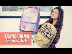 Transforma tu mochila, rápido y fácil! - YouTube
