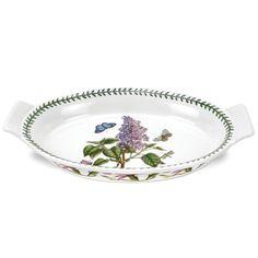 Portmeirion Botanical Garden Large Oval Gratin Dish - 521513