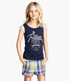 H&M Pantalones cortos de sarga 12,95 €