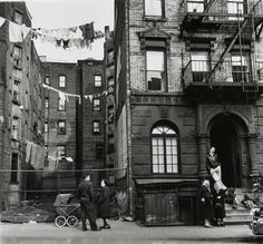 Rebecca Lepkoff's black and white photos of the Lower East Side.