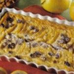 Clafoutis di frutta, dessert originario del Limosino.