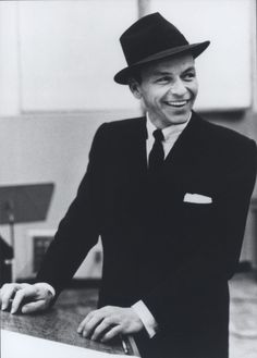 Frank Sinatra & his great smile