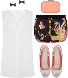 Shop Now Blanco.com: Pendientes / Clutch / Short / Top / Calzado.  (SUITEBLANCO Pre Fall 2013).