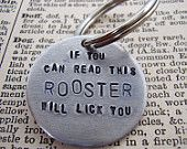 Doggy Tag, personalized for your Pooch. My sister's dog needs this as a Warning Label.
