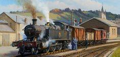 Great Western Railway No.4555 at Ashburton