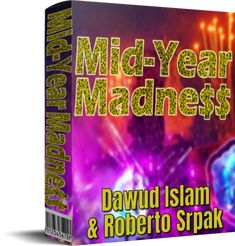 Mid Year Madness Review, Bonus From Dawud Islam - 34 x 100% Reseller Rights Products Make Money Fast, Save Your Money, Make Money Online, Islam, Solo Ads, New Year Deals, Social Media Video, Affiliate Marketing, Internet Marketing